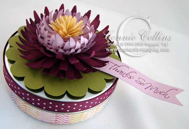 Constantly stamping water lilly from daisy die the other day i saw a tutorial in creative paper magazine on how to make floating lotus flowers from cardstock they were beautiful mightylinksfo