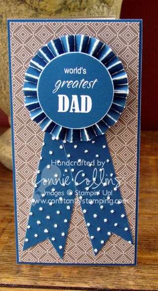 Father's Day Blue Ribbon front