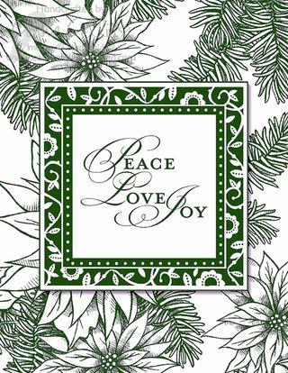 Peace Love Joy MDS Card copy