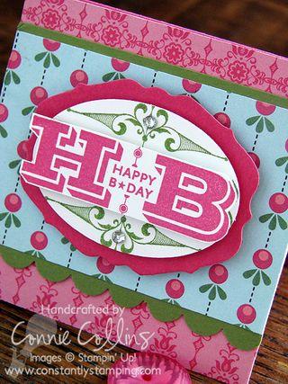 Happy Birthday Engraved Greetings 2