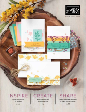 2020_2021 Stampin Up catalog cover